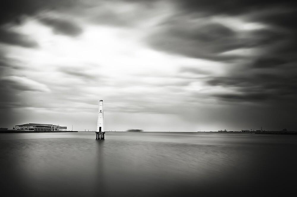 Port Melbourne Lighthouse by Melinda Kerr
