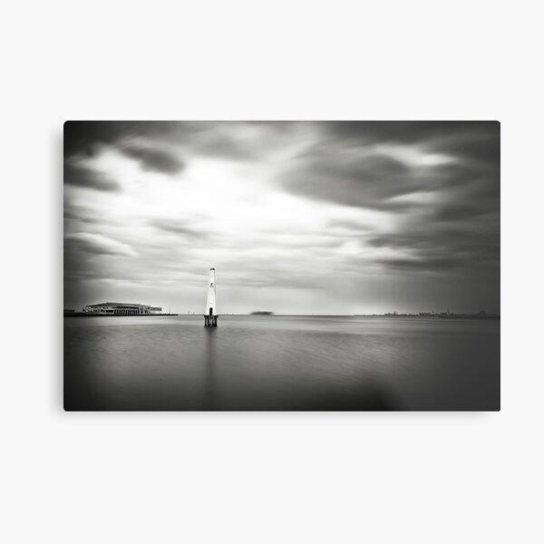 Port Melbourne Lighthouse Metal Print