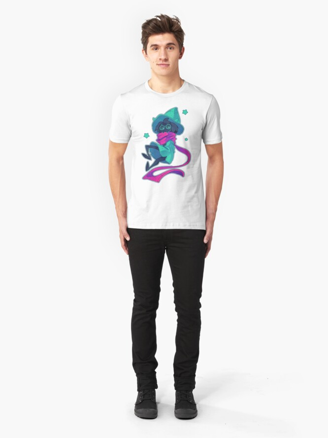 Alternate view of DELTARUNE - Ralsei Slim Fit T-Shirt
