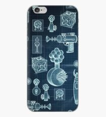 Rick and Morty - Schematic #2 iPhone Case