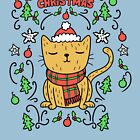 Christmas Cat | Very Meowy by Kittyworks