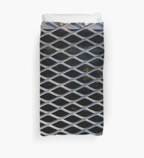 Metal Grate Duvet Cover