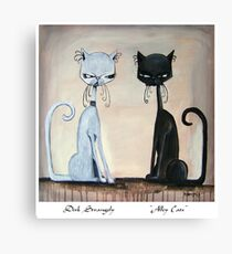 Dirk Strangely's ALLEY CAT'S Canvas Print