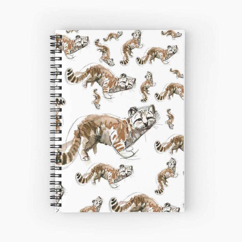 Gato andino (AGA) Cuaderno de espiral