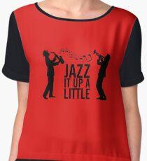 Jazz It Up A Little Chiffon Top