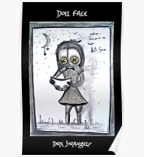 Dirk Strangely's DOLL FACE Poster