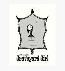 Dirk Strangely's GRAVEYARD GIRL Art Print