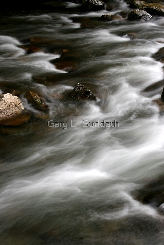 Rushing Waters by Gary L   Suddath