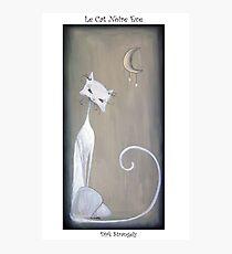 Dirk Strangely's LE CAT NOIRE EVE Photographic Print