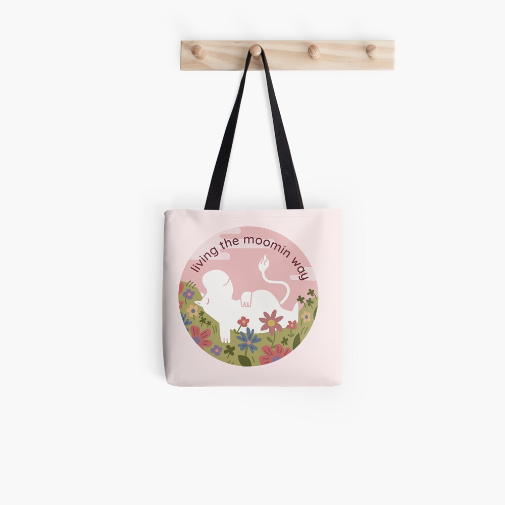 live the moomin way  Tote Bag