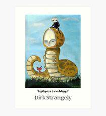 Dirk Strangely's LEPIDOPTERA LARVA MUGGET Art Print