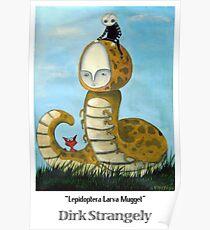 Dirk Strangely's LEPIDOPTERA LARVA MUGGET Poster