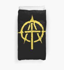 Christian Libertarian Election Gift - Anarcho Cross Duvet Cover