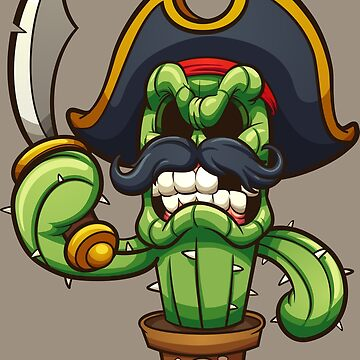 Angry pirate cactus by memoangeles