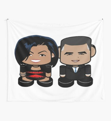 O'bamabots: Greater Together POLITICO'BOT Toy Robots Wall Tapestry