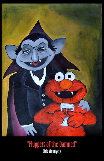 Dirk Strangely's MUPPET'S OF THE DAMNED by Dirk Strangely