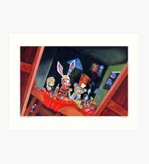 Dirk Strangely's ALICE IN STRANGELAND Art Print