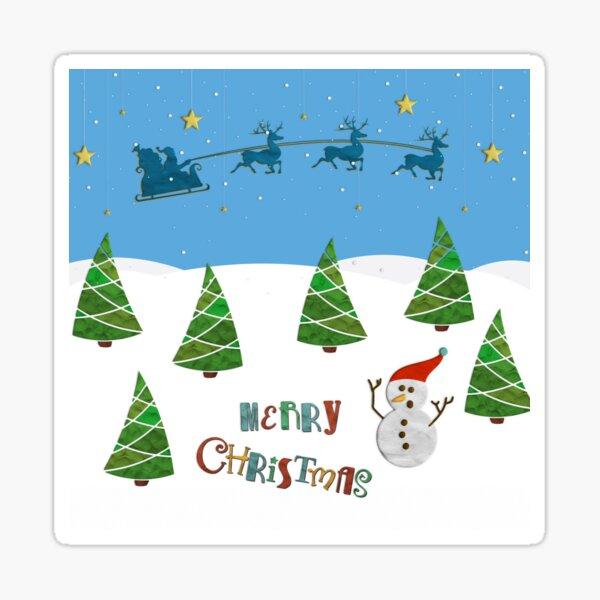 Christmas motive no. 1 Sticker