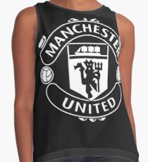 Manchester United Red/ Black Blusa sin mangas