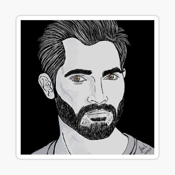 Tyler Hoechlin Image Face Sticker