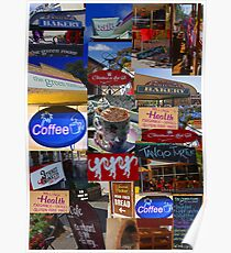 Willunga Cafes Poster