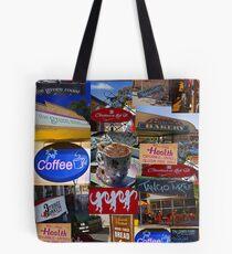 Willunga Cafes Tote Bag