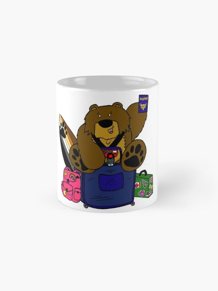 Alternate view of Travel Bear Mugs