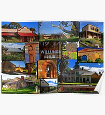 Willunga houses and community Poster