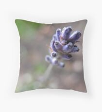 Spike Lavendin Tip Throw Pillow