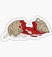 the guinea pig murders... Sticker
