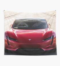 Tesla Roadster Newest Model ( 2020) Wall Tapestry