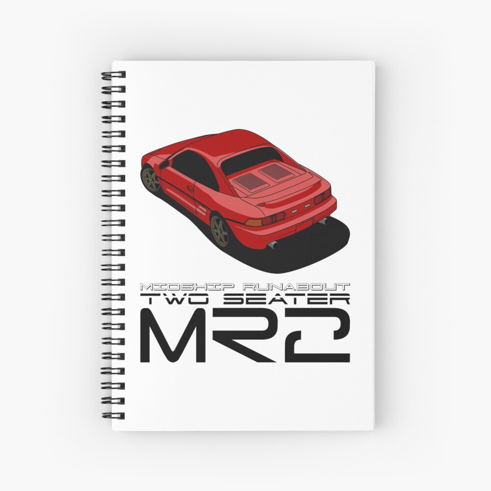 MR2 SW20 Spiral Notebook