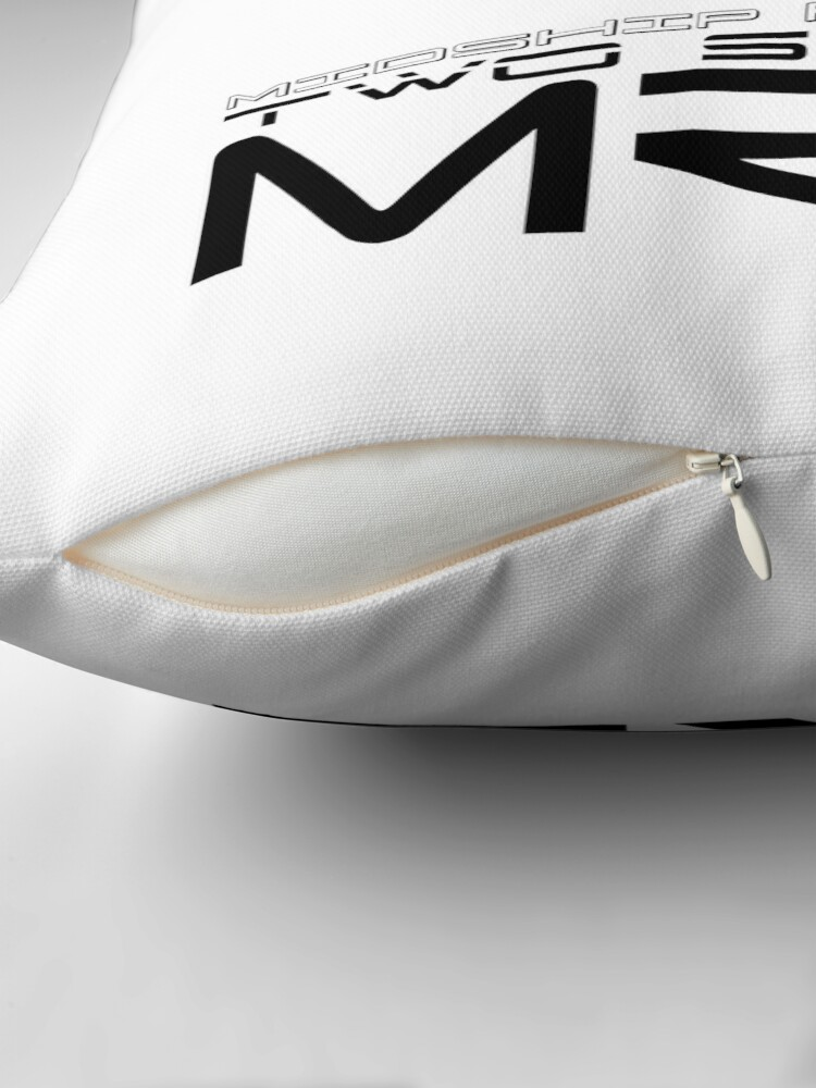 Alternate view of MR2 SW20 Throw Pillow