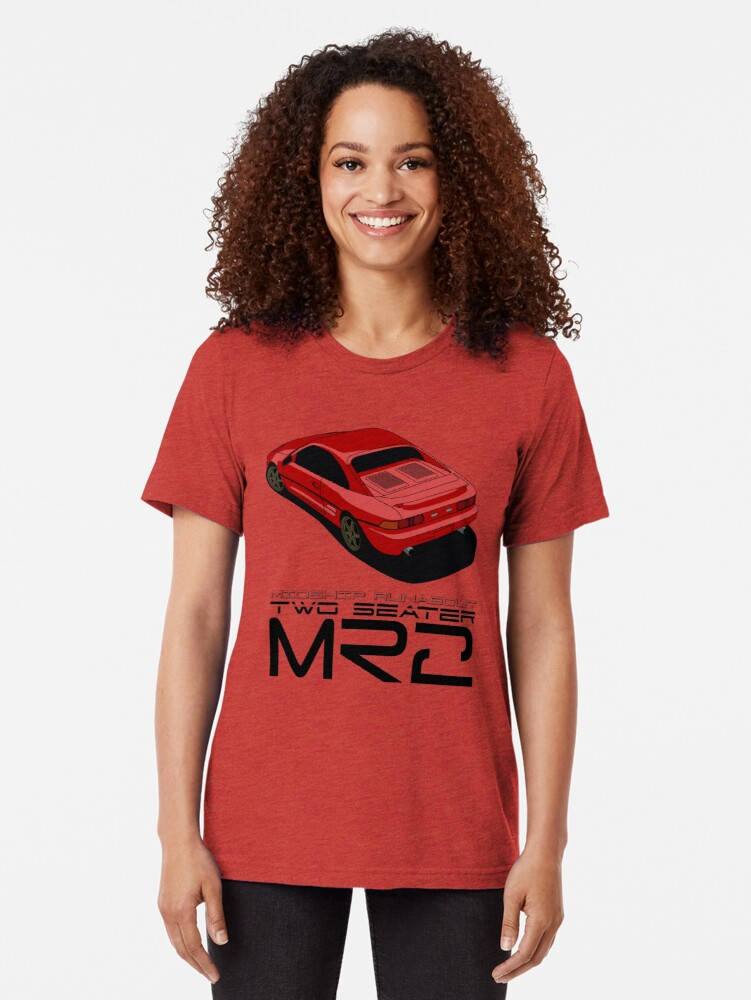 Alternate view of MR2 SW20 Tri-blend T-Shirt