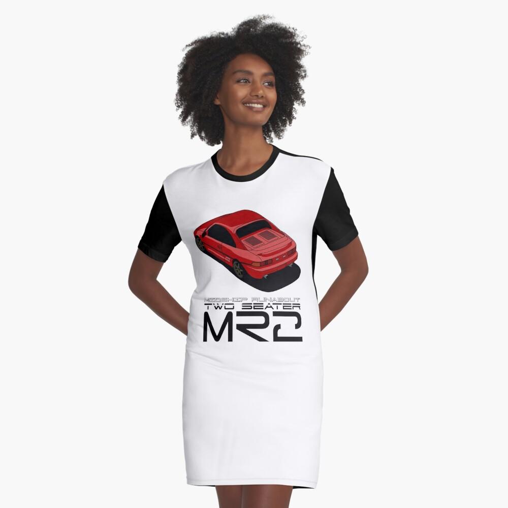 MR2 SW20 Graphic T-Shirt Dress