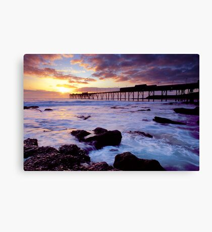 Catherine Hill Bay, NSW Canvas Print