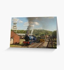 Industrial Transition Greeting Card