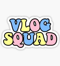 gucci version of vlog squads merch Sticker