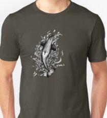 Saddle Patch Heart v2 Unisex T-Shirt