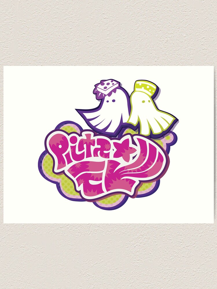 squid sisters logo art print by arizone redbubble redbubble