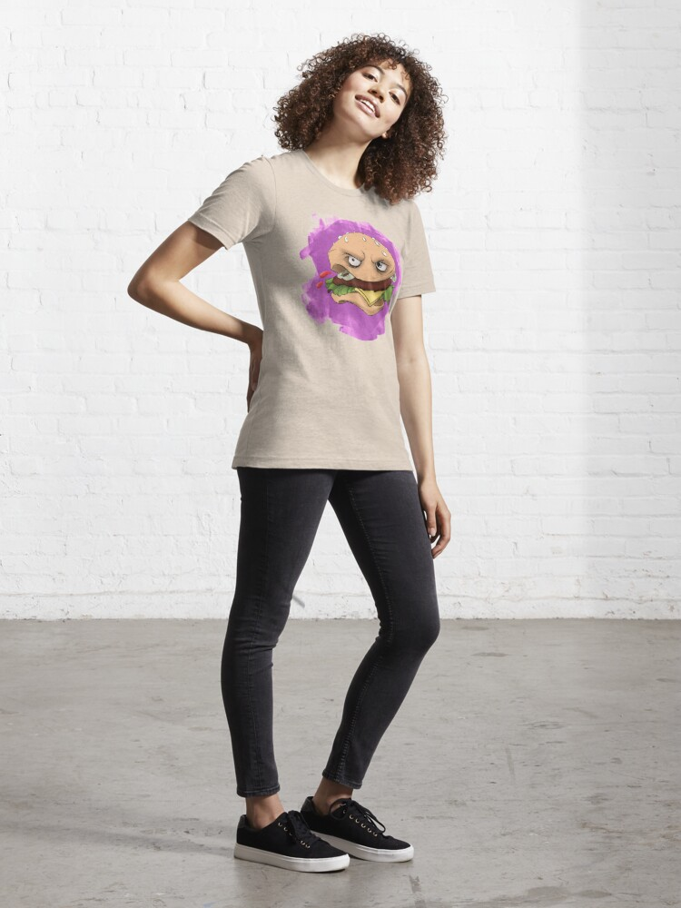 Alternate view of Angry 'Burgs Essential T-Shirt