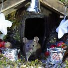 christmas wild mouse with decorations  by Simon-dell