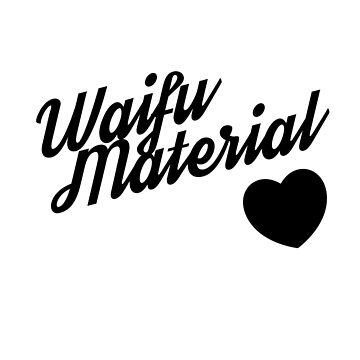 Waifu Material | Waifu | Your waifu is | Love Waifu | Sad Asian Girl Waifu  by RMorra