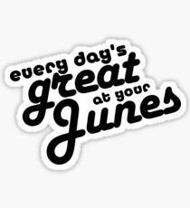 Junes Sticker