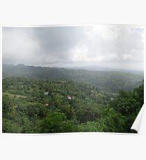 an unbelievable Saint Lucia landscape Poster