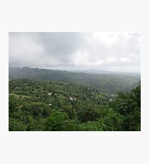 an unbelievable Saint Lucia landscape Photographic Print