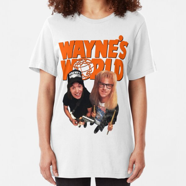Wayne's World Slim Fit T-Shirt