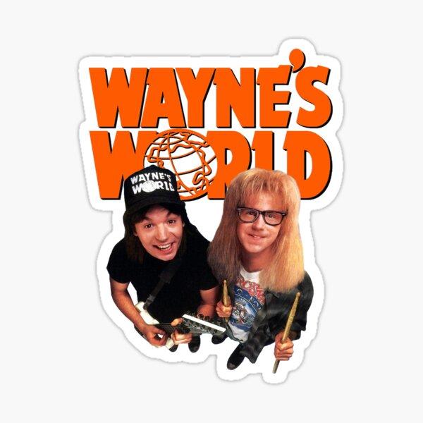 Wayne's World Sticker
