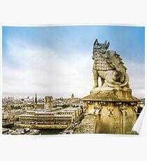 Guardian of Paris Poster