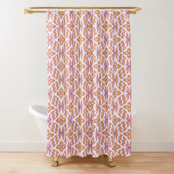 Japonaise 87 by Hypersphere Shower Curtain